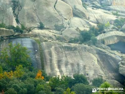 La Pedriza - Collado del Cabrón - Charca Verde _ viaje de montaña_ club de montaña;laguna grande